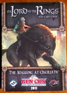 Lord of the Rings : The Card Game - Nightmare Decks - The Massing at Osgiliath